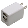 2台同時充電2.4A Smart IC対応AC充電器